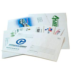 Печать на конвертах в Подольске цена