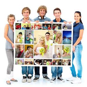 Создание фотоколлажей - услуги фото экспресс